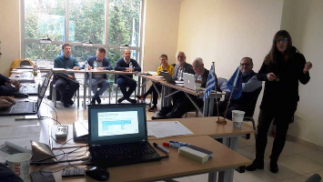 Prospektiker at the launch meeting of the new EduZWaCE project on Circular Economy and Zero Residues, in Trikala, Greece