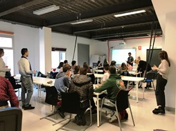 The 5th meeting of the KATCH_e project was held together with a Workshop on Circular Economy in collaboration with the Basque Ecodesign Hub