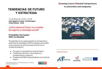 Participate in the beFORE Seminar on Future and Strategy, on May 14 in Oñati