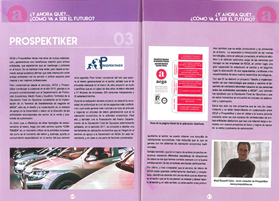 PROSPEKTIKER in the annual business magazine of AEGA