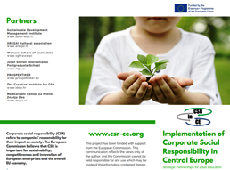 Second meeting of partners of the CSR-CE Project in Turin