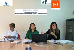 Working breakfast on equality with the Basque Country Cluster