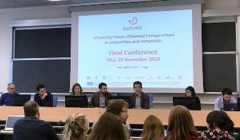 BeFORE Project Final Conference held in Pisa, Italy