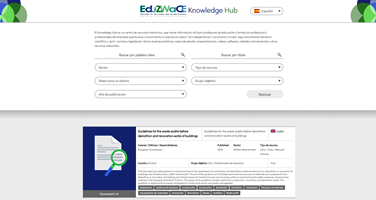 Access the EduZWaCE Knowledge Hub on circular economy