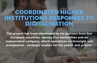 First result of the ESCALATE project on Digitization in Universities